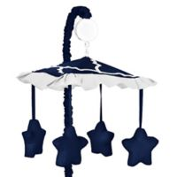 Sweet Jojo Designs Trellis Musical Mobile in Navy