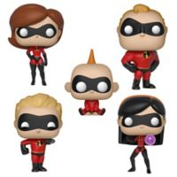 Funko POP! 5-Pack Disney® Incredibles Series 2 Collectors Figurines