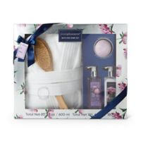 Simple Pleasures® Bath Spa Robe Set in Peony Plum