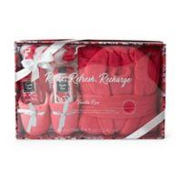 Lila Grace® Robe & Slipper Mega Set in Vanilla Rose Pink