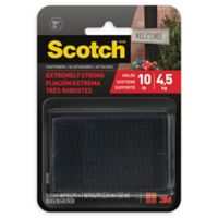 Scotch™ Extreme Fasteners in Black (Set of 2)