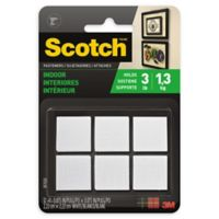 Scotch™ 3M Indoor Fasteners in White (Set of 12)