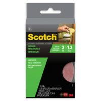 Scotch™ Easy Lock Sticky-Back Indoor Fasteners in White