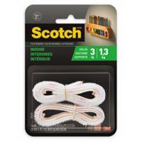 Scotch™ 3M Indoor Fasteners Strip in White