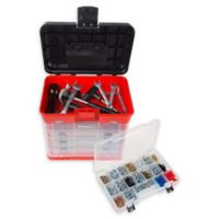 Stalwart® Storage and Tool Box in Red