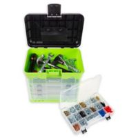 Stalwart 4-Drawer Storage and Tool Box in Green