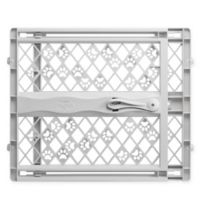 MyPet Tension-Mount Portable Pet Gate in Grey