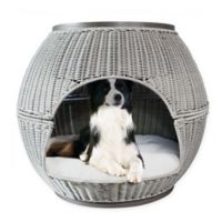 Deluxe Igloo Pet Bed in Smoke