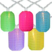 Sienna Chinese Lantern Multicolor Patio Lights (Set of 10)