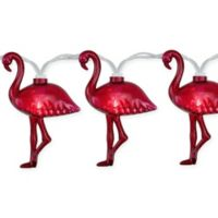 Northlight 9.9-Foot Flamingo String Light Set in Pink