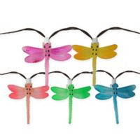 Sienna Dragonfly 29 ft. 10-Light Christmas Lights in Multicolor