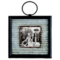 Mud Pie® Small Corrugated Tin Frame