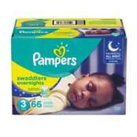 Pampers® Swaddlers 66-Count Size 3 Overnights Disposable Diapers