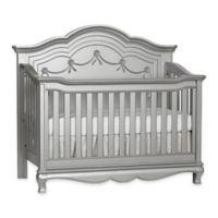 Baby Cache Adelina 4-in-1 Convertible Crib in Metallic Grey