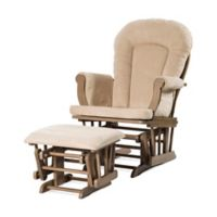 Child Craft™ Forever Eclectic™ Glider in Dusty Heather with Ottoman