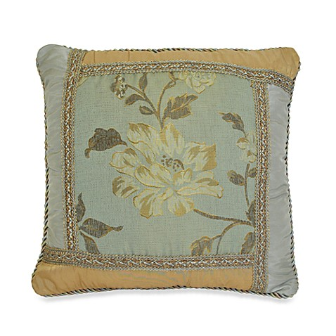 Austin Horn Classics Savoy 18-Inch Square Toss Pillow