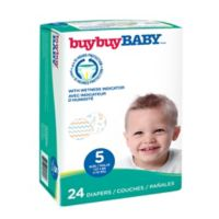 buybuy BABY™ 24-Count Size 5 Jumbo Diapers in Letters and Chevrons