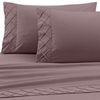 Jill Morgan Forever Soft Diamond Hem Twin Sheet Set in Lilac