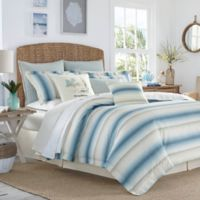 Tommy Bahama® La Prisma Stripe King Comforter Set in Blue