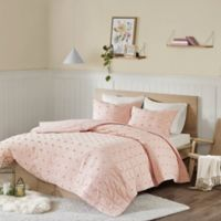 Urban Habitat Brooklyn Full/Queen Coverlet Set in Pink