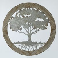 e5d9d3a814 Buy Metal Tree Wall Decor | Bed Bath & Beyond