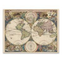 Terrarium Orbis Tabula 22-Inch x 28-Inch Canvas Wall Art