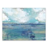 Oceans Away 18-Inch x 24-Inch Canvas Wall Art