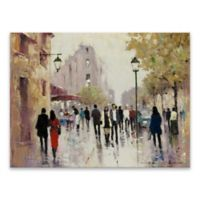 Paris Afternoon 18-Inch x 24-Inch Canvas Wall Art