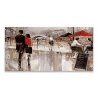 Riverwalk Charm 15-Inch x 30-Inch Canvas Wall Art
