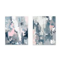 Abstract 16-Inch x 20-Inch Wrapped Canvas (Set of 2)