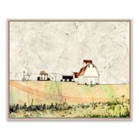 Absract Landscape Nature 20.87-Inch x 16.88-Inch Framed Canvas