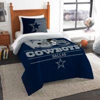 NFL Dallas Cowboys Draft Twin Comforter Set