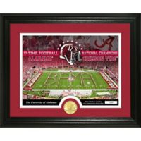 University of Alabama Football National Champions Bronze Coin Photo Mint