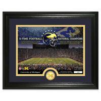 University of Michigan Football National Champions Bronze Coin Photo Mint