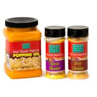 Wabash Valley Farms™ 3-Piece Popcorn Seasoning and Oil Combo Set