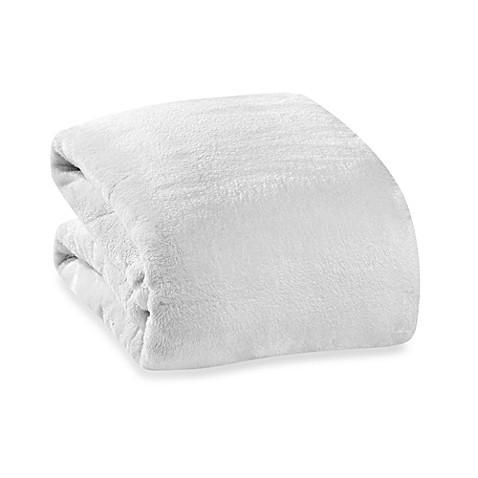 Buy Berkshire Blanket 174 Serasoft 174 Supreme Throw In Cream