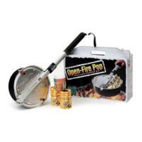 Open Fire Outdoor Popcorn Popper Set