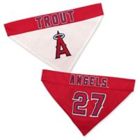MLB Los Angeles Angels Large/X-Large Mike Trout Reversible Pet Collar Bandana