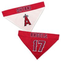 MLB Los Angeles Angels Shohei Ohtani Small/Medium Reversible Pet Collar Bandana