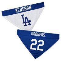 MLB Los Angeles Dodgers Kershaw Large/X-Large Reversible Pet Collar Bandana