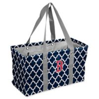 MLB Boston Red Sox Quatrefoil Picnic Caddy
