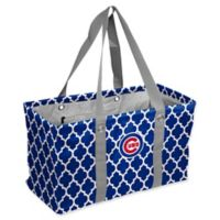 MLB Chicago Cubs Quatrefoil Picnic Caddy