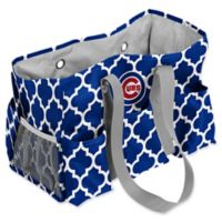 MLB Chicago Cubs Quatrefoil Junior Caddy