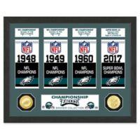 NFL Philadelphia Eagles NFL Titles and Super Bowl Champions Photo Mint