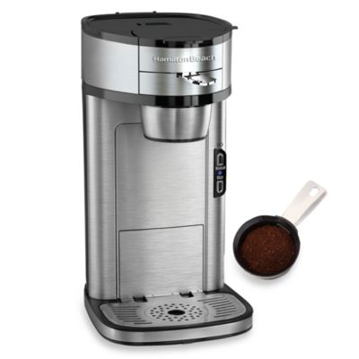 Single Coffee Maker Bed Bath And Beyond : Hamilton Beach The Scoop Single-Serve Coffee Maker - Bed Bath & Beyond