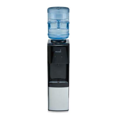 primo top load water dispenser in black - Water Jug Dispenser