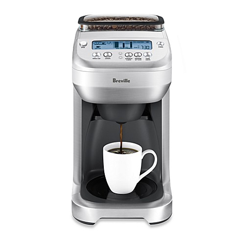 Breville Coffee Maker With Grinder Built In