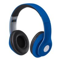 iLive Wireless Over-the-Ear Headphones in Matte Blue