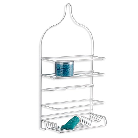 buy large shower caddy from bed bath amp beyond rubbermaid bath and shower caddy almond by thewrinklyelephant