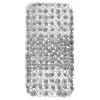 iDesign® Pebblz Non-Slip Suction Bath Mat in Graphite